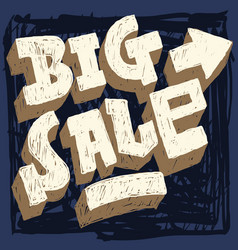 big sale hand drawn scribble brush strokes style vector image vector image