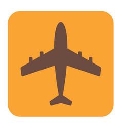 Plane icon simple vector