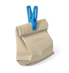 bag of coffee vector image