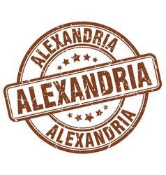 Alexandria stamp vector