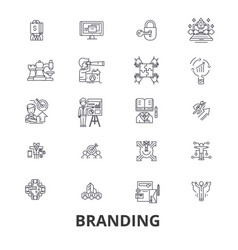 branding marketing advertising creative idea vector image vector image