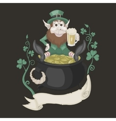 It is image of St Patrick vector image vector image