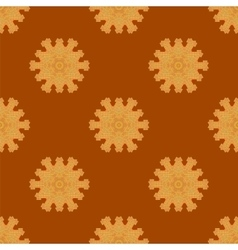Red brick seamless ornament isolated vector
