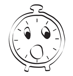Alarm clock icon editable graphic in vector