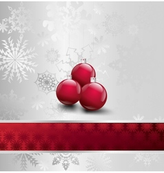 Image of christmas with ball vector