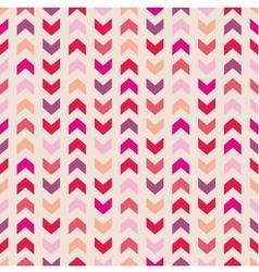 Chevron seamless pattern tile zig zag background vector