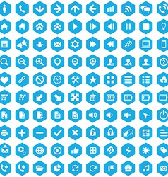 100 ui outline for web and mobile icons vector