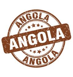 Angola stamp vector