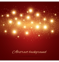 Background with Lights vector image
