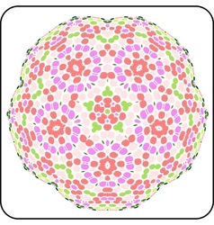 Circular symmetry pattern vector