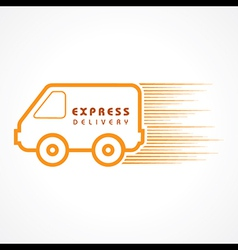 Express delivery concept for increase the sell sto vector