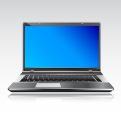 Lap Top computer vector image
