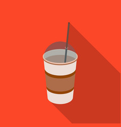 latte for take-awaydifferent types of coffee vector image