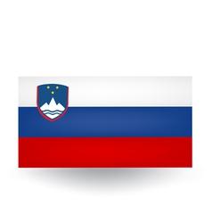 Slovenian flag vector