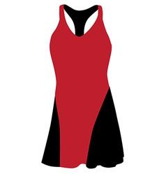 Sport dress vector image vector image