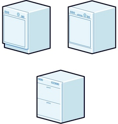 Dishwashers vector