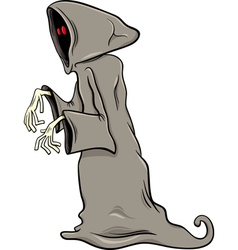 Phantom or ghost cartoon vector