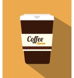 Coffee shop and drink vector
