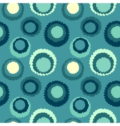 Seamless geometric polka do spotty pattern polka vector