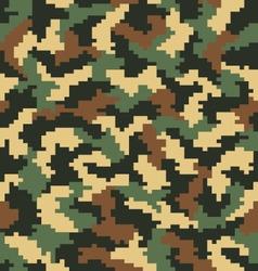 Digital camouflage seamless vector
