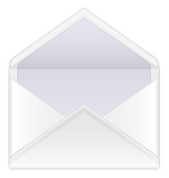 Envelope mail open vector
