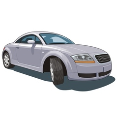 Modern car vector image