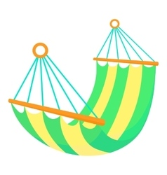 Hammock icon cartoon style vector