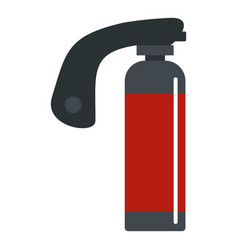Gas cylinder icon isolated vector