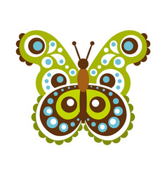 Colorful beautiful butterfly vector