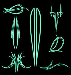 pinstripe-033 vector image vector image