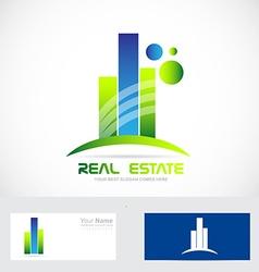Real estate icon logo vector