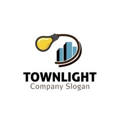 Town light design vector
