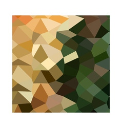 Bronze yellow abstract low polygon background vector
