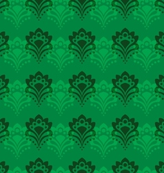 Background - emerald flowers vector