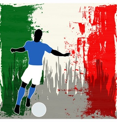 Football Italy vector image