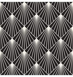 Geometric burst lines rhombus grid vector