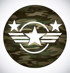 Military emblem vector