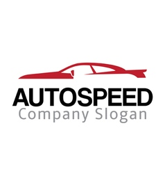 Auto speed design vector