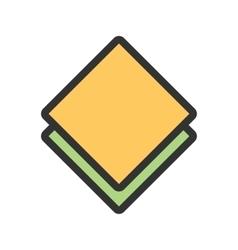 Kitchen napkin vector