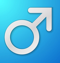 Male symbol Mars vector image