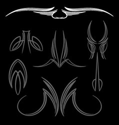 pinstripe-034 vector image vector image