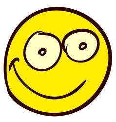 Smiley Doodle 03 vector image