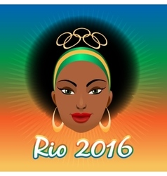 Rio Olympic Games Emblem vector image