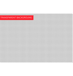 simple checkered transparent background vector image vector image
