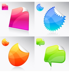Stickies vector image vector image