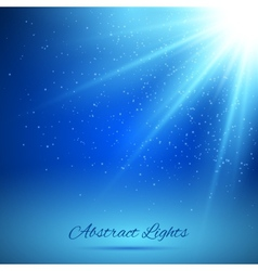 Abstract background with rays of light vector