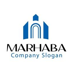 Marhaba design vector