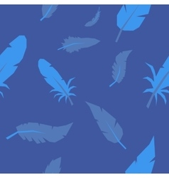 Feather pattern seamless vector image