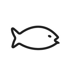 Fish water vector