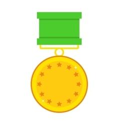 Hero reward vector image